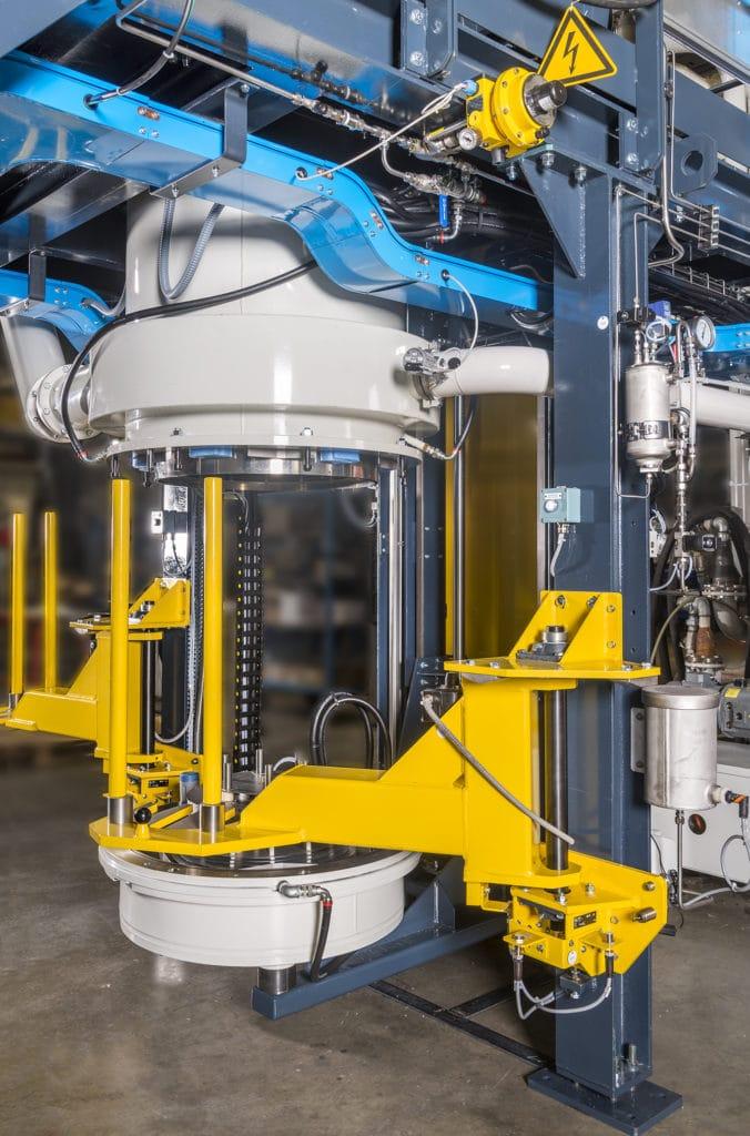 Hearth Lift Furnace Diamant Ecm Technologies
