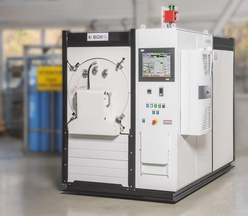 Horizontal Vacuum Furnace for additive manufacturing | ECM