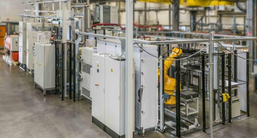 ICBP nano in line heat treatment